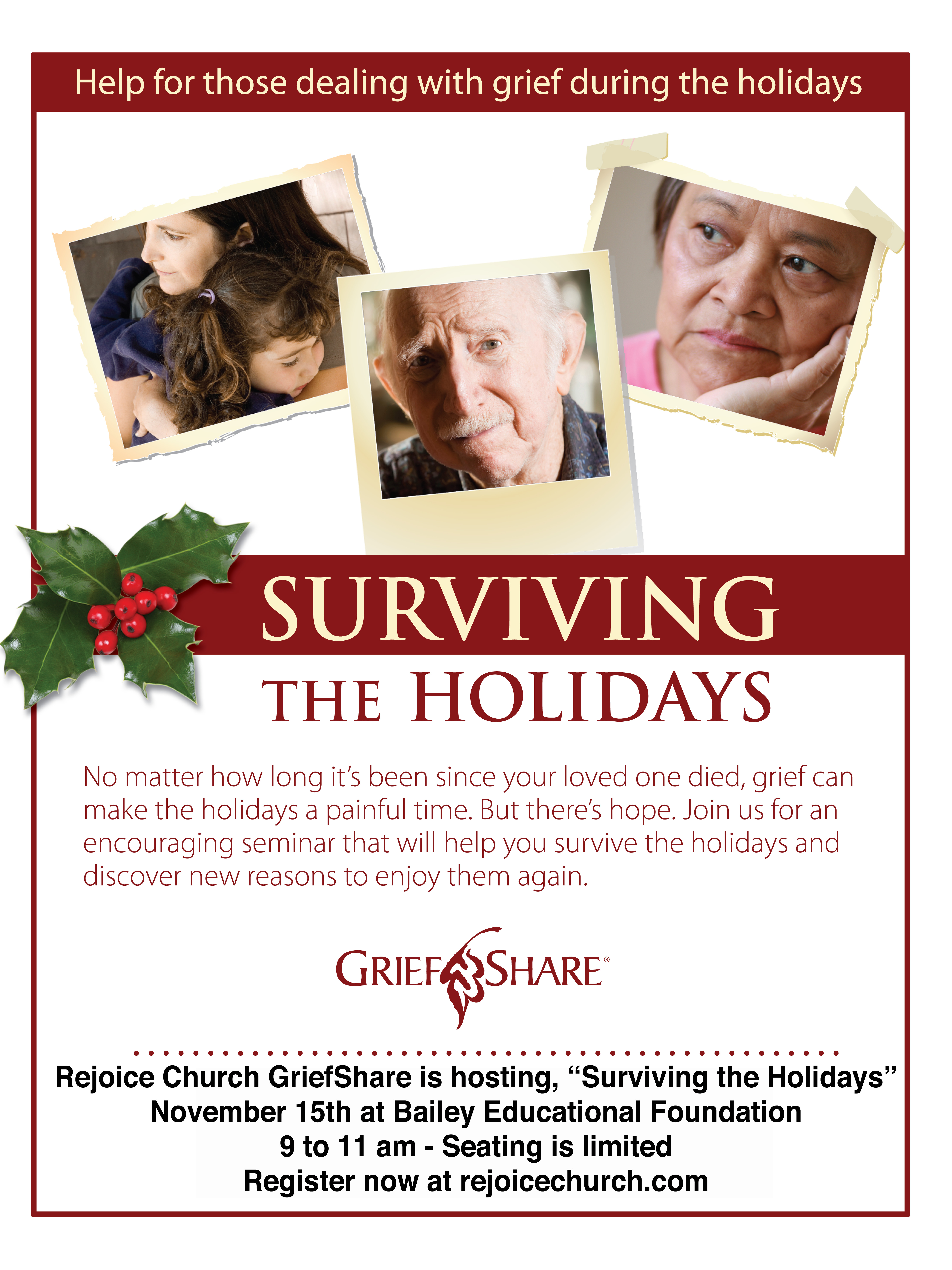 Quot Surviving The Holidays Quot Seminar Being Offered Through