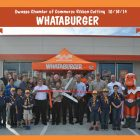 Ribbon Cutting for Owasso's New Whataburger Held Thursday