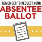 Voters Should Apply Early for Absentee Ballots for October 10th Election