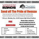 Pride of Owasso Send off to Nationals Performance to Benefit OCR