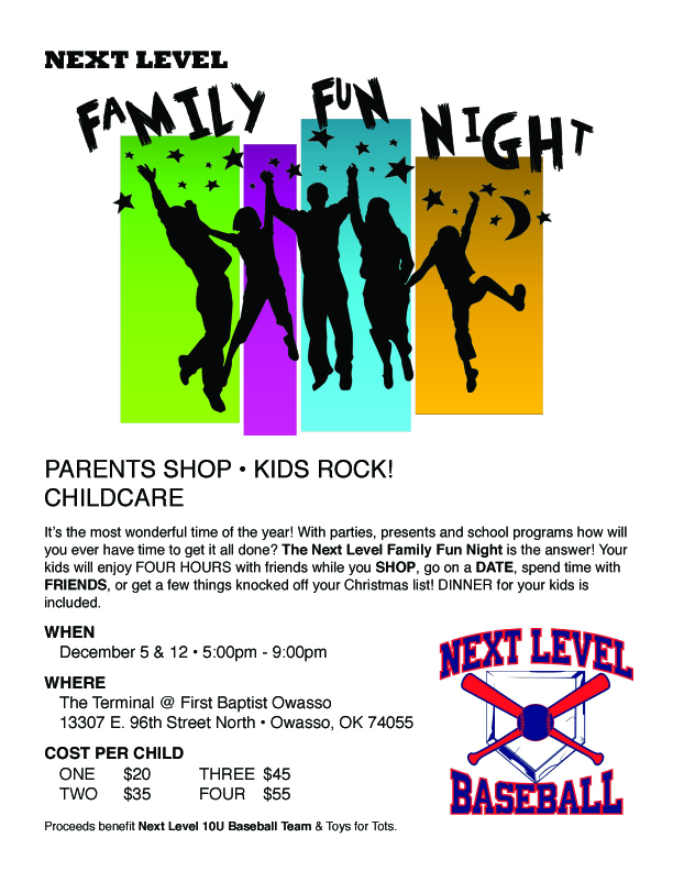 Next Level Family Fun Night