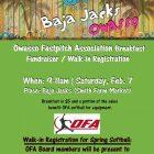 Baja Jacks Breakfast Fundraiser for Owasso Fastpitch Association February 7th