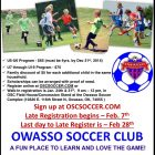 Sign up Now for Spring 2015 Soccer in Owasso