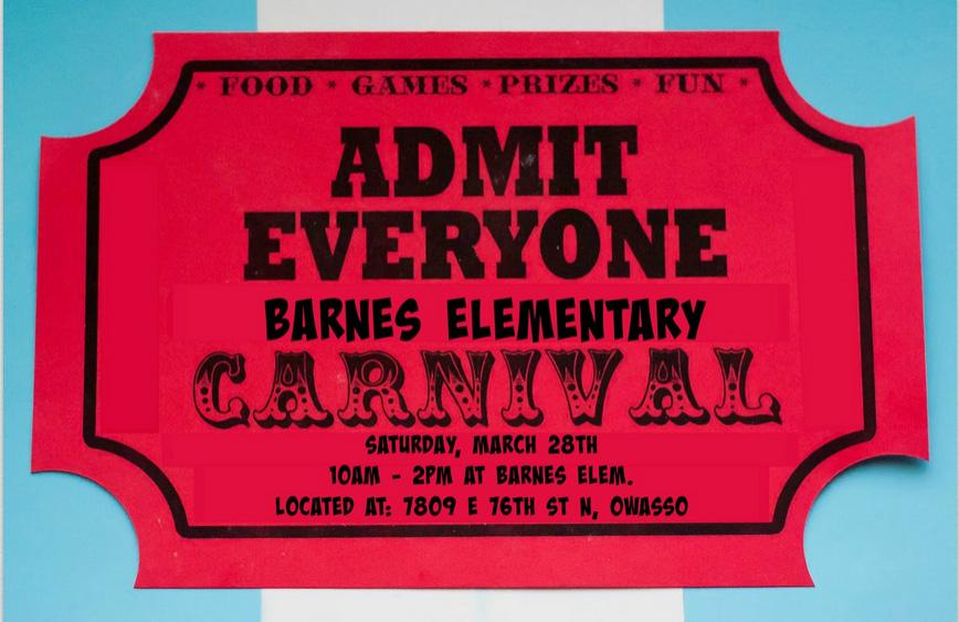 carnival tkt Barnes