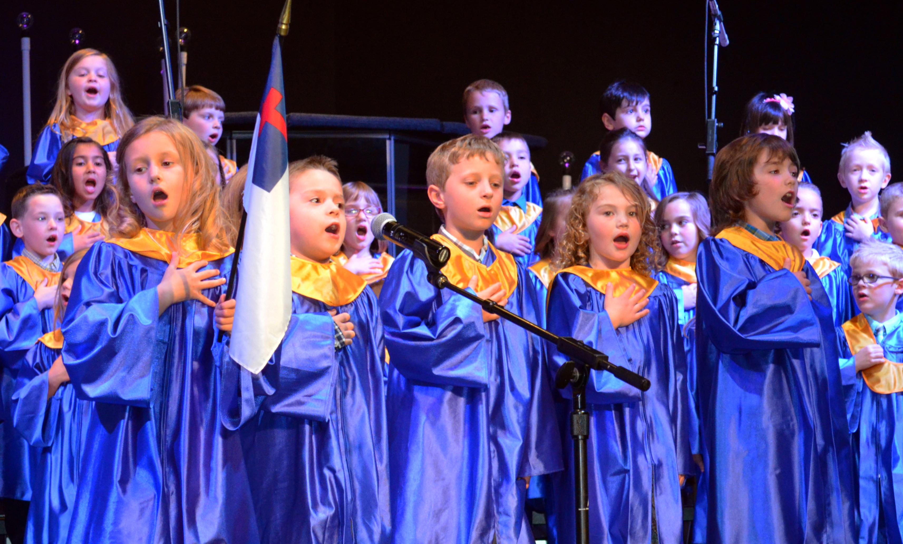 68a327075c Rejoice Christian Schools hosts Kindergarten Graduation Ceremony ...