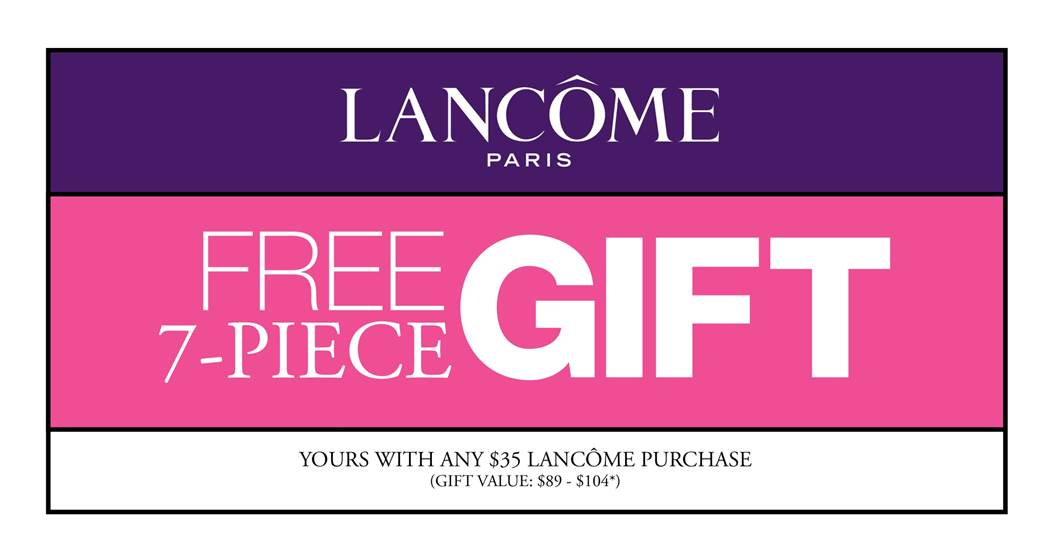 4f5e1a68e08 September is Lancome Gift with Purchase Time at Owasso Belk - Plus ...