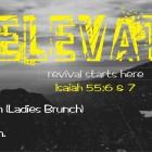 Elevate Weekend at Silver Creek Church November 6 thru 8