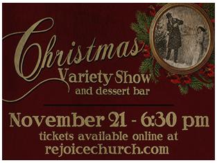 Rejoice drama presents a christmas variety show and for Acapulco golden tans salon owasso ok