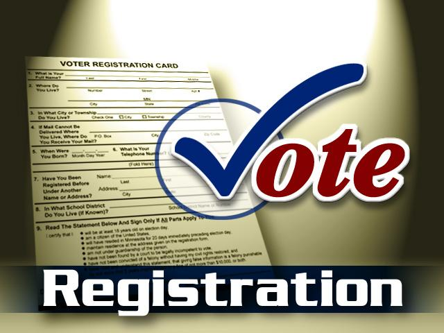 Voter Registration Deadline is January 20th