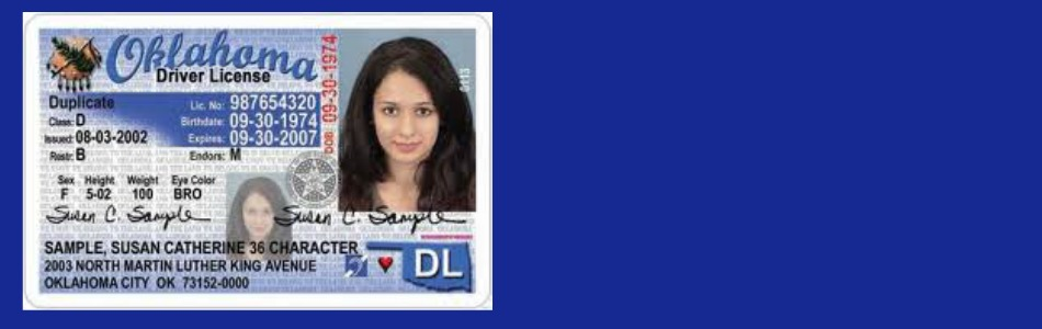Error Found On Some Oklahoma Driver Licenses Id Cards