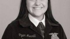 Piper Merritt Elected Oklahoma State FFA Secretary for 2016-2017