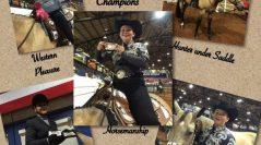 Owasso 9th Grade Equestrian Sweeps State!