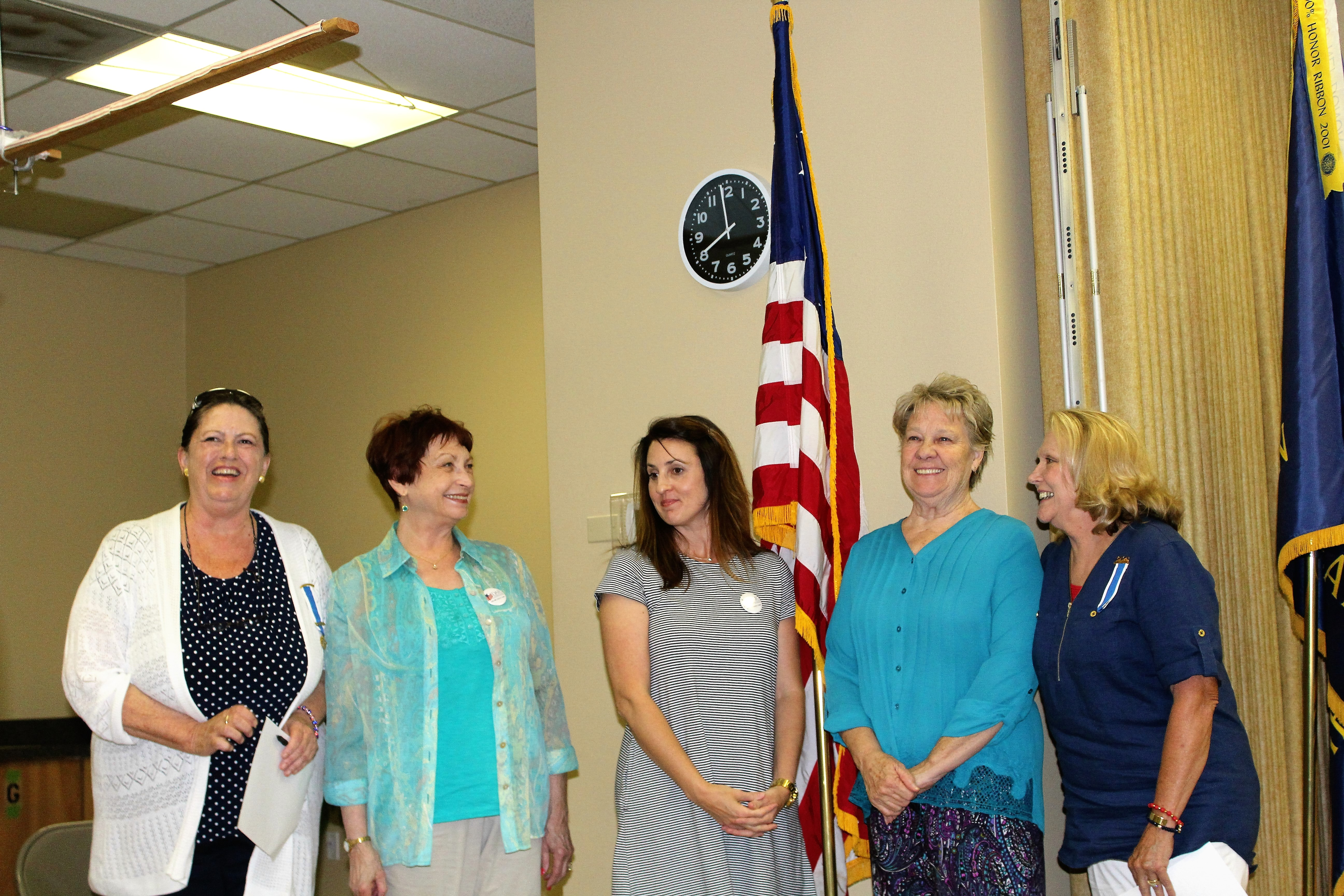 The owasso chapter nsdar installed three new members at for Acapulco golden tans salon owasso ok