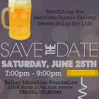 Toast for a Cure: Beer and Wine Tasting Fundraiser on June 25