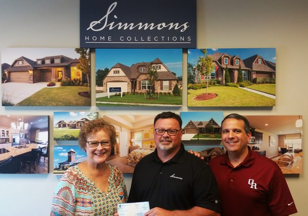 Simmons Homes Donates 5 000 To Owasso High School For