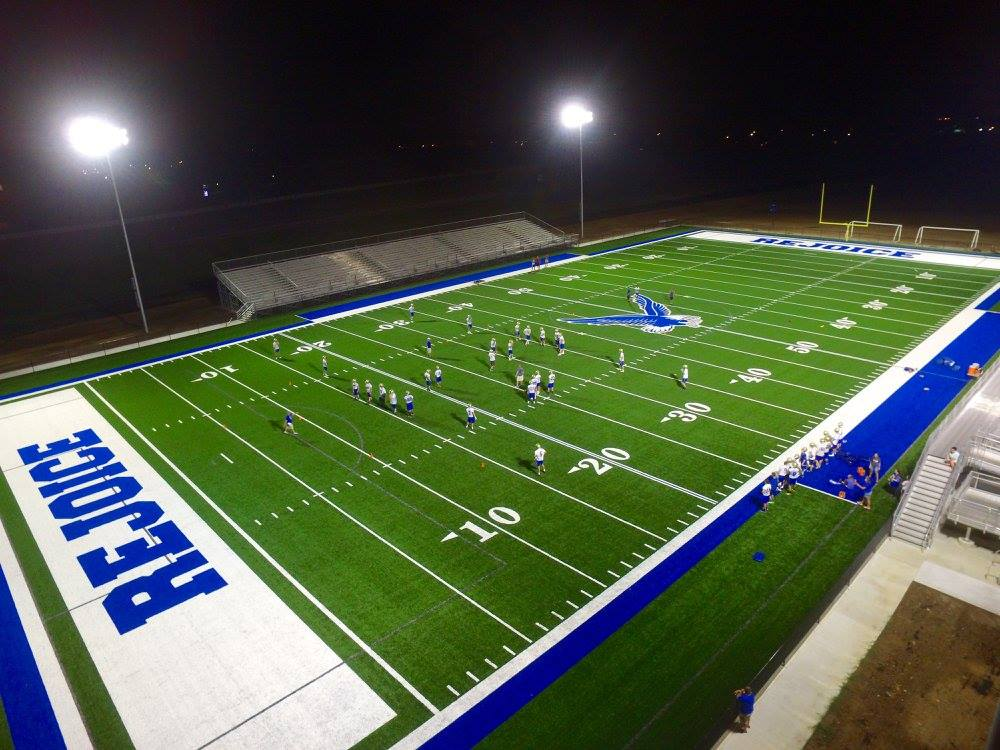 Rejoice Christian Hosts First Football Game in New Stadium Tonight