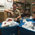 Local Eagle Scout's Food Drive Benefits Owasso Community Resources