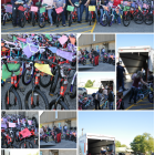 Capital One Employees Deliver 100 Bicycles for Owasso Community Resources Giving Tree Program