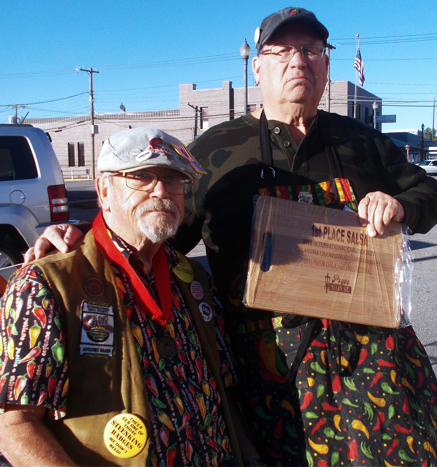 Owasso Cook Wins Again at State Chili Cook-Off