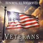 Veterans Invited to Rejoice's 4th Grade Veterans Day Program