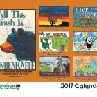 2017 Trash Poster Contest calendar released and contest open for Oklahoma students