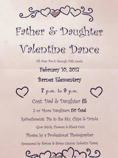 Annual Owasso Father Daughter Valentine Dance Owassoisms Com