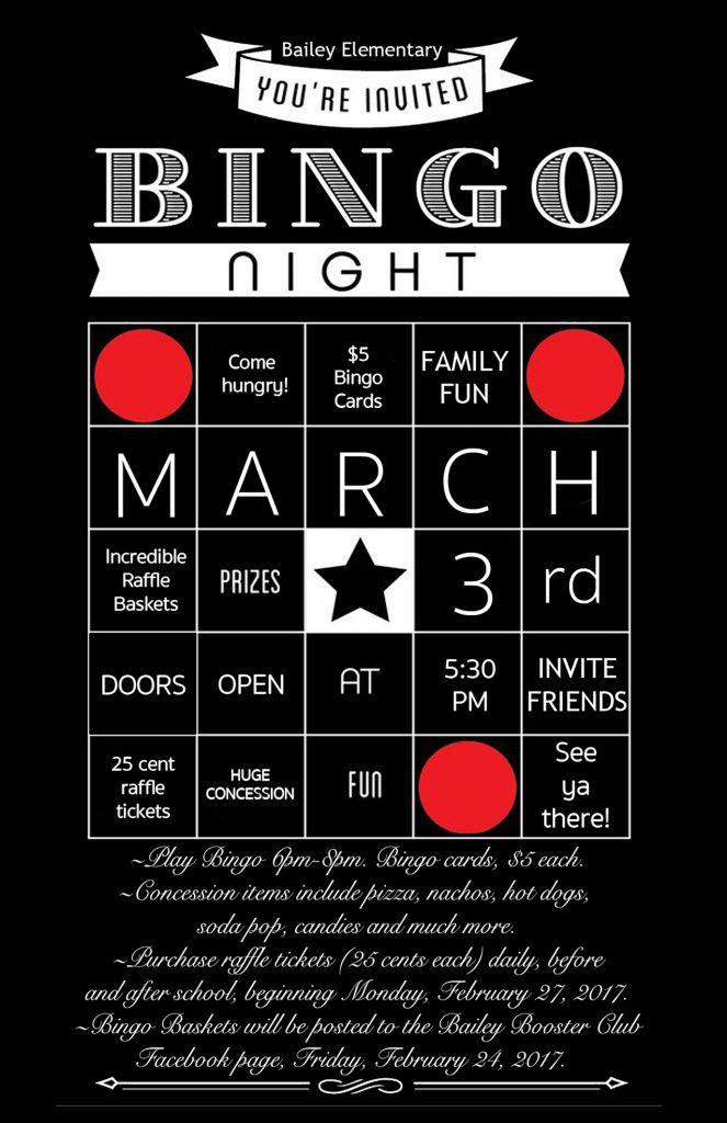 Bailey Family Bingo Night Owassoisms Com
