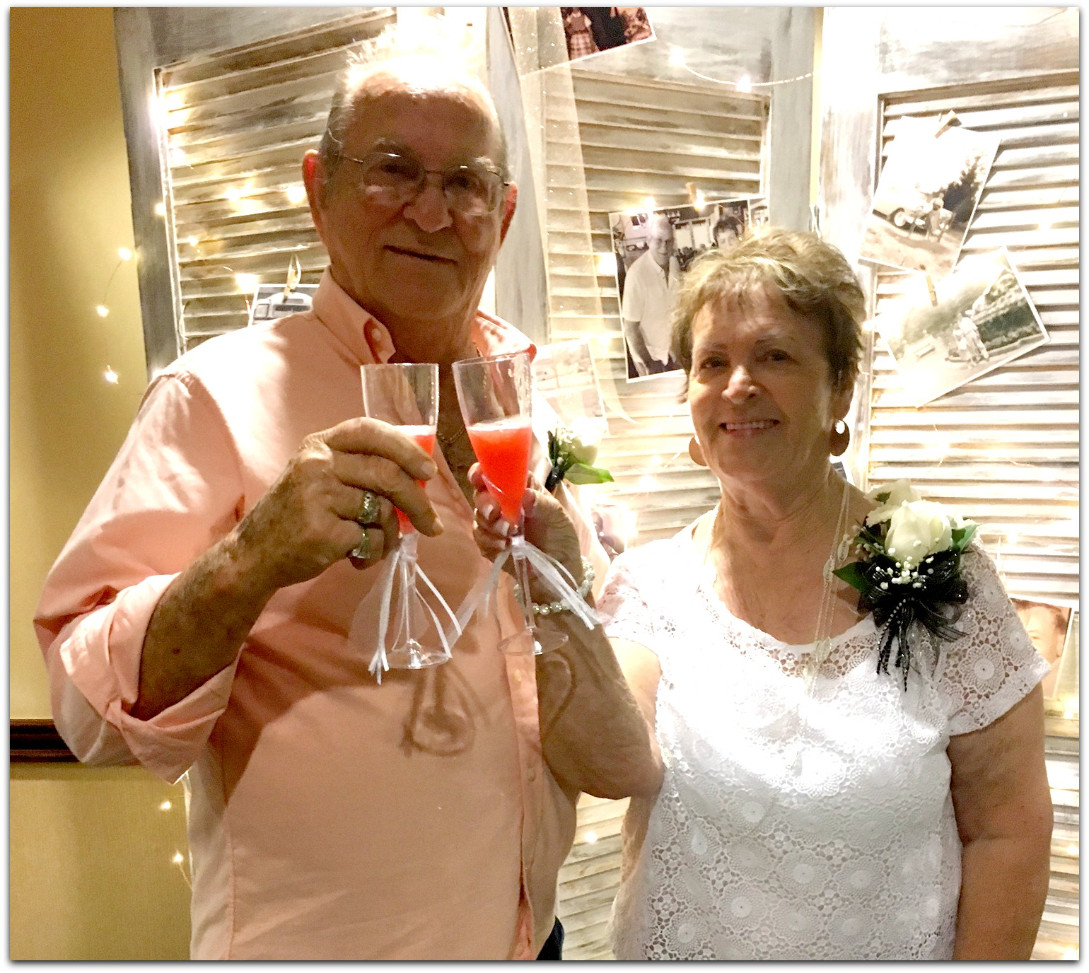Gary and geraldine plummer celebrate 60 years of marriage for Acapulco golden tans salon owasso ok
