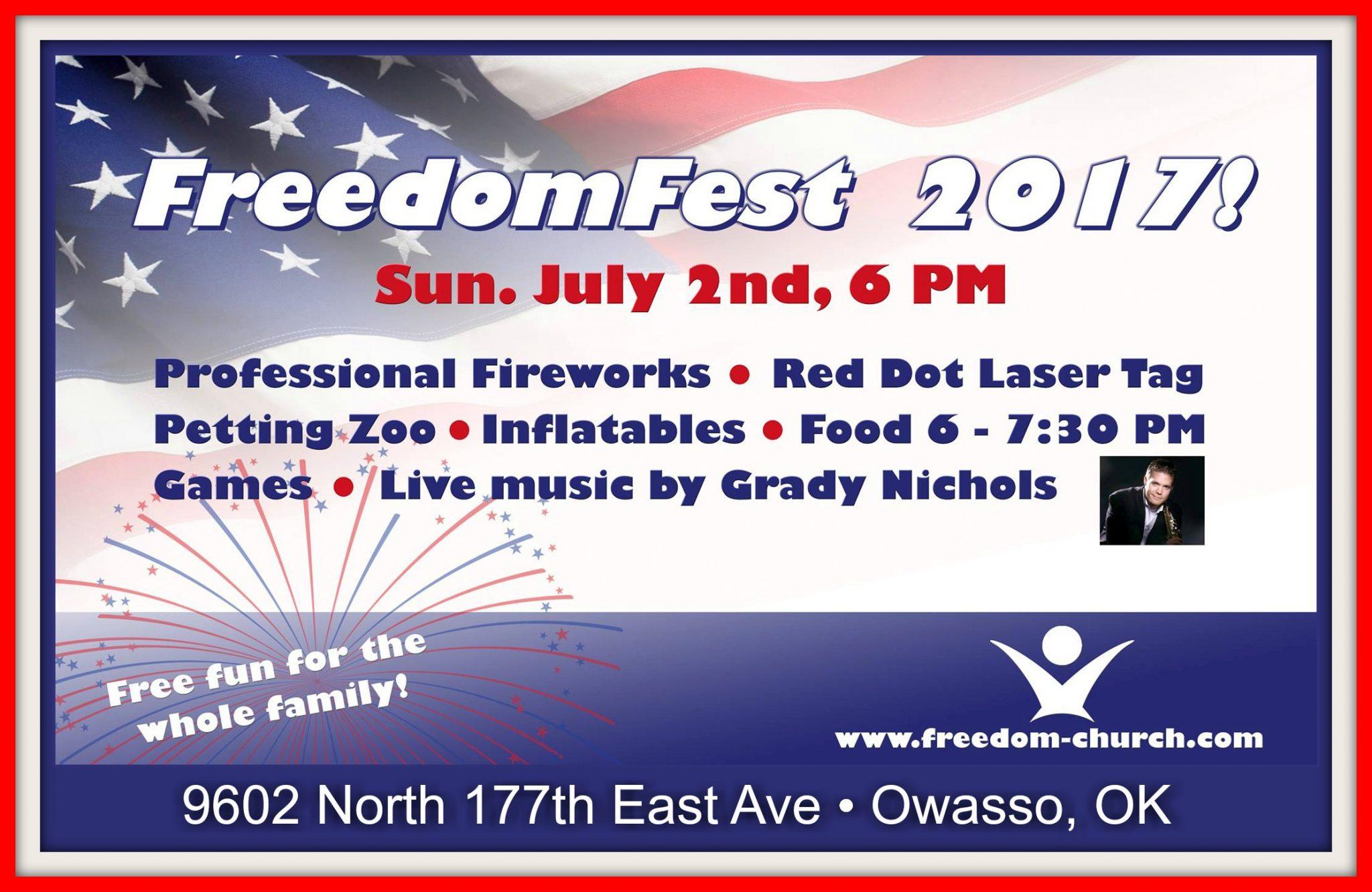 Freedom Fest Border