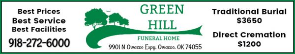 Green Hill BANNER Ad