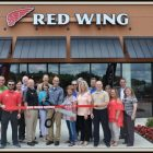 Ribbon Cutting Held for Red Wing Shoes