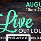 LIVE OUT LOUD Ladies Conference August 26th