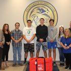 American Heart Association presents CPR in Schools Kit to Rejoice Christian School
