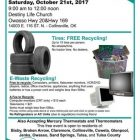Tire and E-Waste Collection Event in