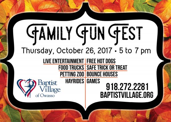 Family Fun Fest Owassoisms Ad