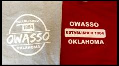 Owasso Established 1904 T-Shirt Flash Sale!
