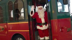 Owasso Holly Trolley Returns, Free for Holiday Shoppers