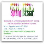Owasso Community Center Spring Bazaar March 17