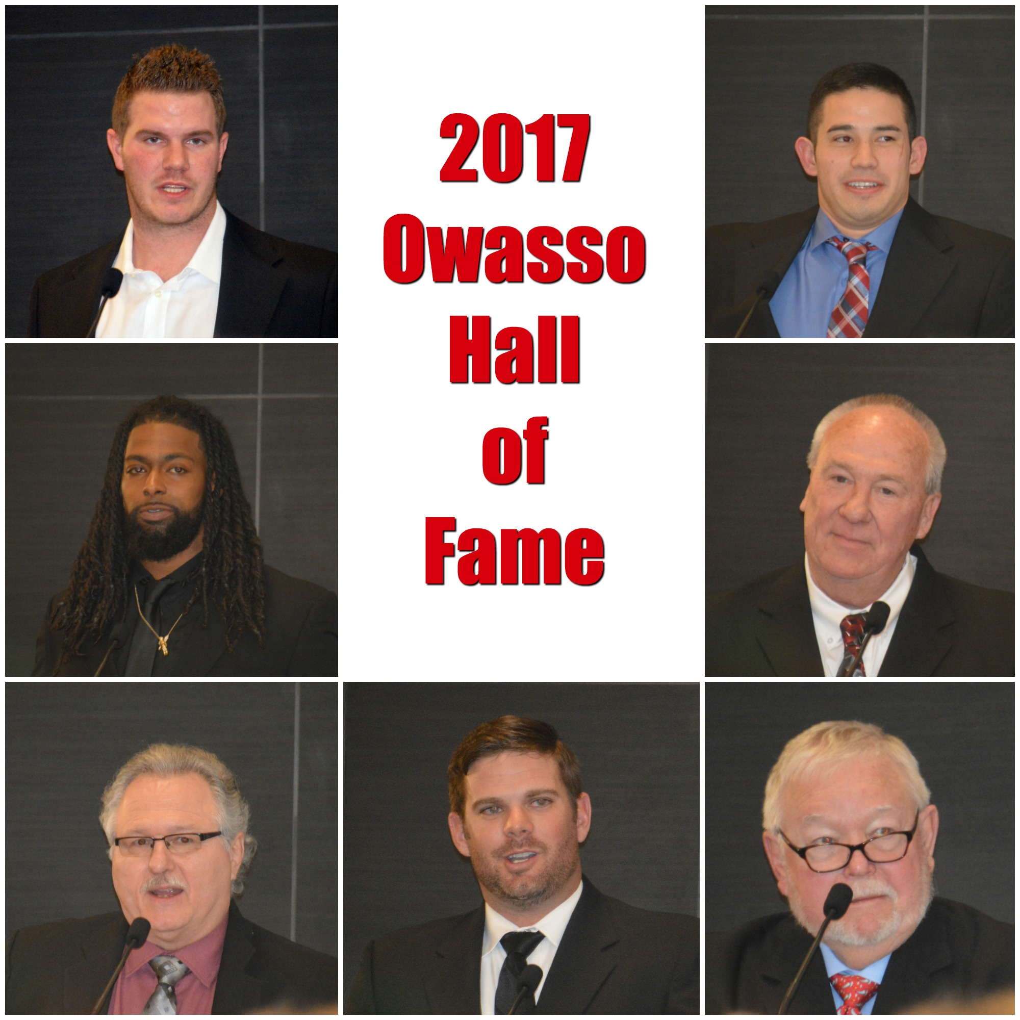 7 new member inducted in to the owasso hall of fame for Acapulco golden tans salon owasso ok