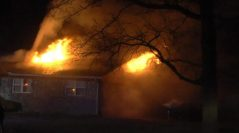 Owasso FD Works House Fire Early Tuesday Morning