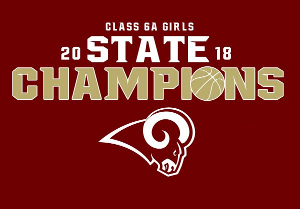 Girls Basketball State Champs Design