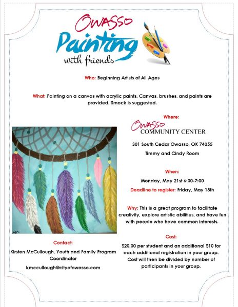 May Painting Class