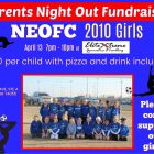 NEOFC Girls Soccer Parents Night Out Fundraiser