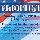 Annual Freedom Church FreedomFest Scheduled for July 1