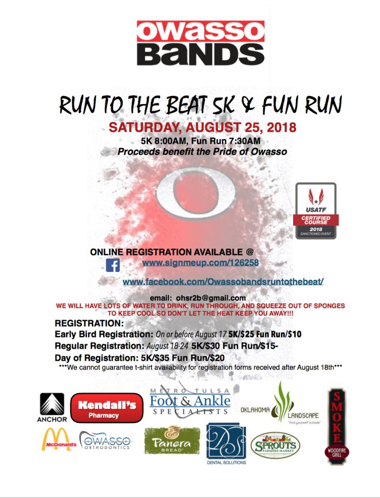 Band run to the beat 2018