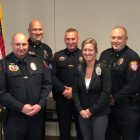 Five Owasso Officers Receive Promotions