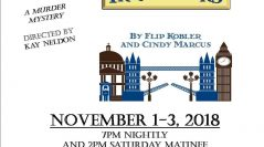 "Owasso Theatre Company Presents ""Bakers Street Irregulars"" in November"