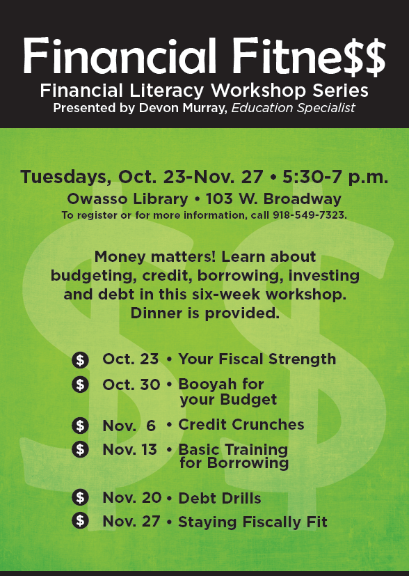 Financial Fitness Flyer (2)