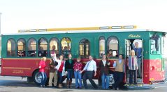 Holly Trolley Returns for it's 10th Owasso Holiday Season