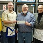 Owasso Masonic Lodge Donates $1,000 to Owasso Community Resources